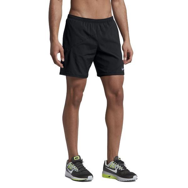 Nike Distance 2in1 Herren Laufshort schwarz