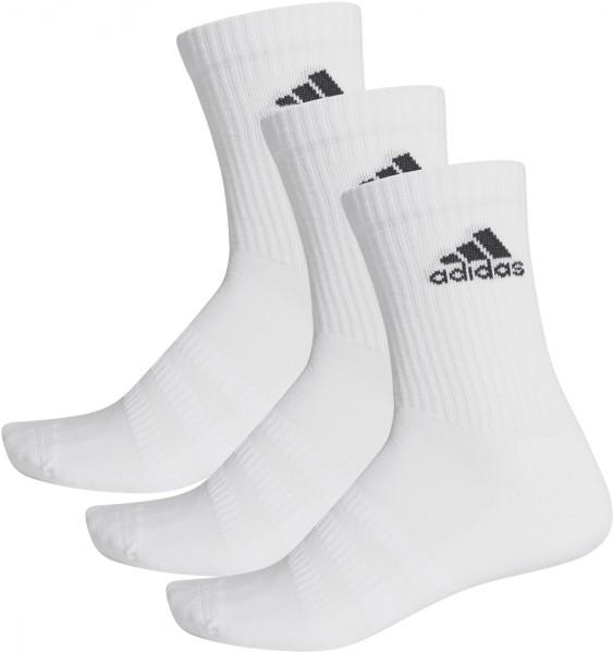Adidas Cush Crew 3er Pack Sportsocken weiß
