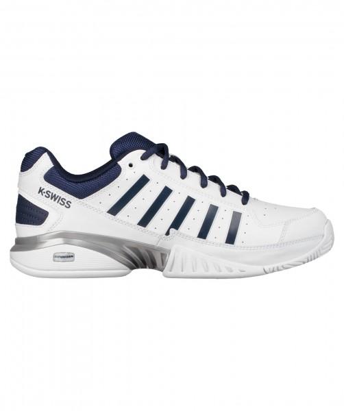 K-Swiss Herren Tennisschuhe Allcourt Receiver IV weiß-blau