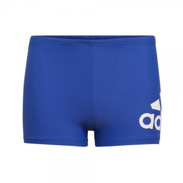 Adidas Jungen Performance Badge of Sport Brief Boxer Badeanzug blau-weiß