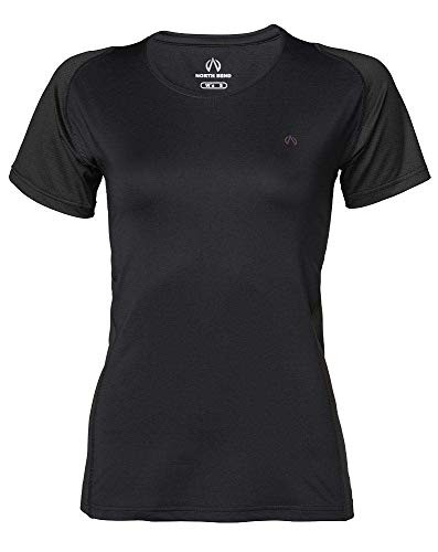 North Bend Damen ExoCool Tee Funktionsshirt Trainingsshirt schwarz