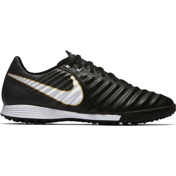 Nike Herren Fussballschuhe TIEMPOX LIGERA IV Schwarz-grau TF