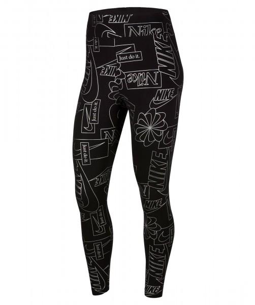 Nike Damen Sportswear Icon Clash Tight Leggings schwarz