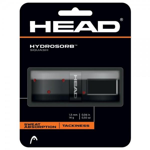 Head Hydrosorb Squash 3er Overgrip schwarz-rot
