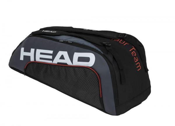 Head Tour Team 9R Supercombi Tennistasche schwarz-grau