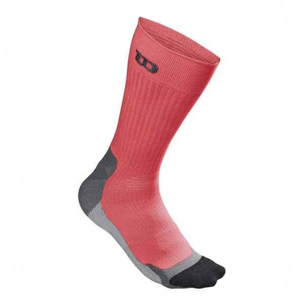 Wilson High-End Crew Tennissocken Herren rot/schwarz