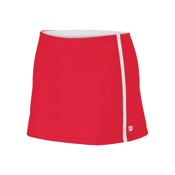 Wilson G Team 11 Inches Tennis Skirt rot