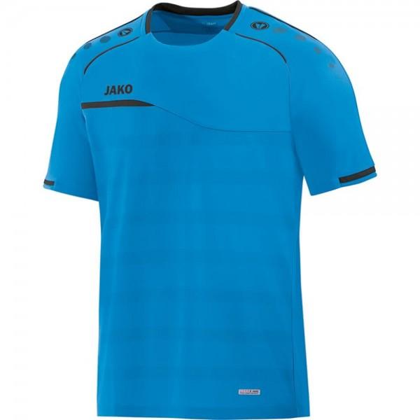 Jako Herren Prestige Trainingsshirt Freizeitshirt blau-anthrazit