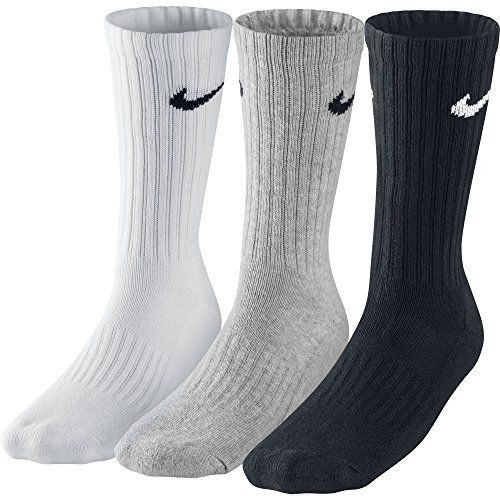 Nike 3er Pack Value Crew Sportsocken sortiert
