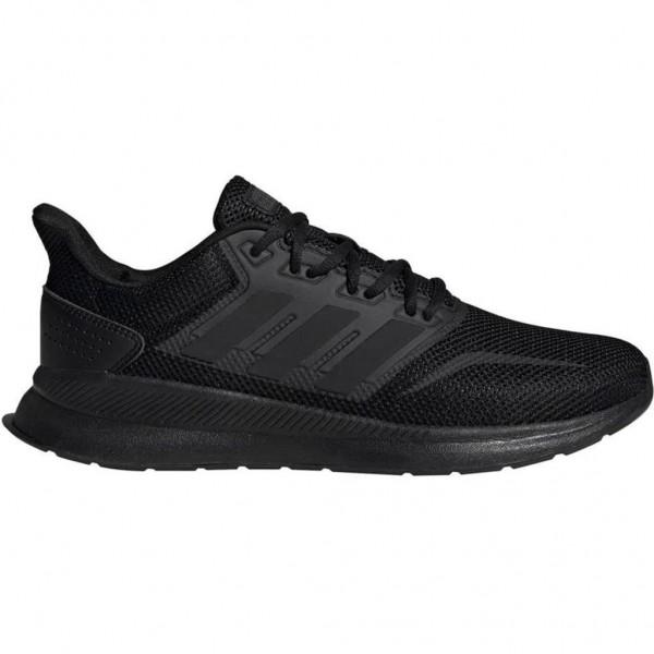 Adidas Herren Run Falcon Laufschuh Fitnessschuh schwarz
