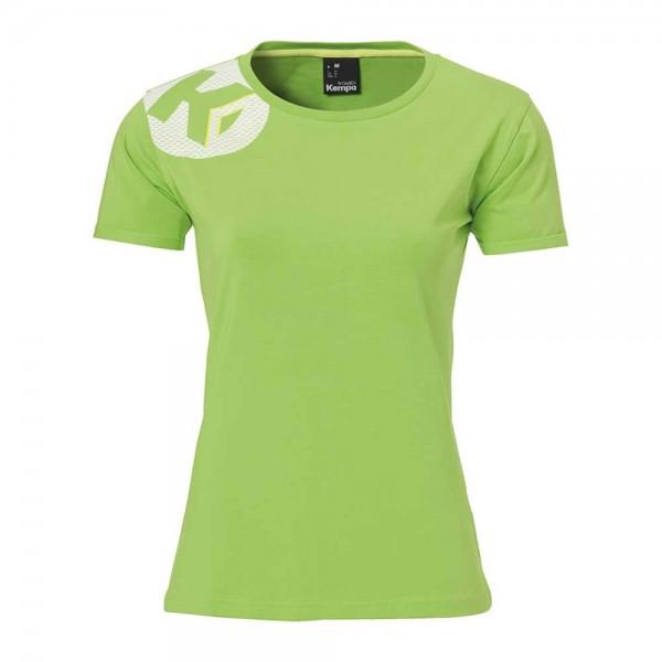 Kempa Tshirt Core 2 0 Women Neon Grun T Shirts Kleidung Damen