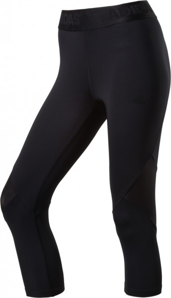 Adidas Damen 3/4 Leggings Alphaskin Tight schwarz