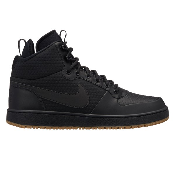 Nike Herren Freizeitschuhe Ebernon Mid Winter schwarz