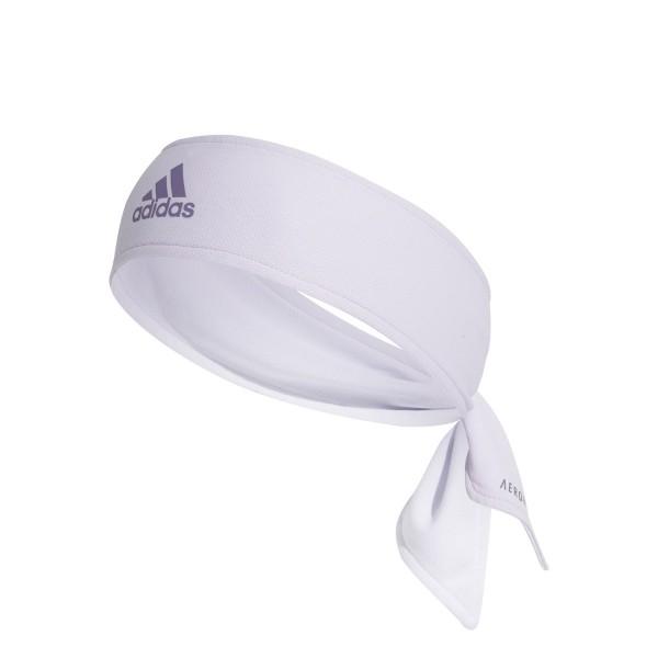 Adidas Aero Tennis Stirnband purple tint-tech purple-white
