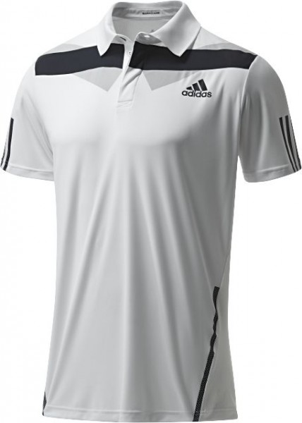Adidas Herren Polo Barricade Traditional Men Tennispolo Tennis Polo schwarz/weiß