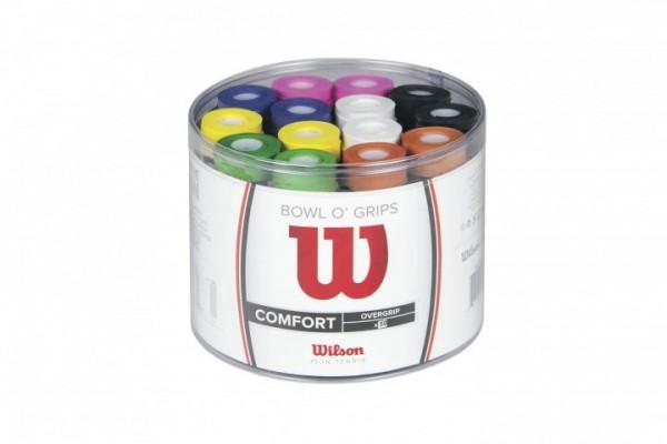 Wilson Bowl o Grip 50er Mix Griffbänder Bunt