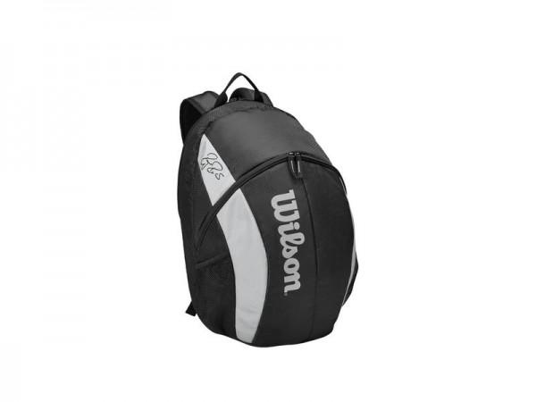 Wilson Roger Federer Team Backpack Tennis Rucksack schwarz