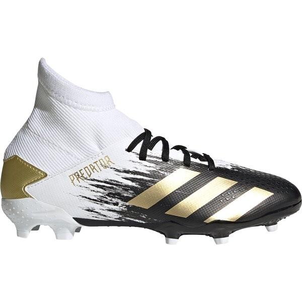 Adidas Kinder Predator 20.3 FG Fußballschuh weiß-schwarz-gold
