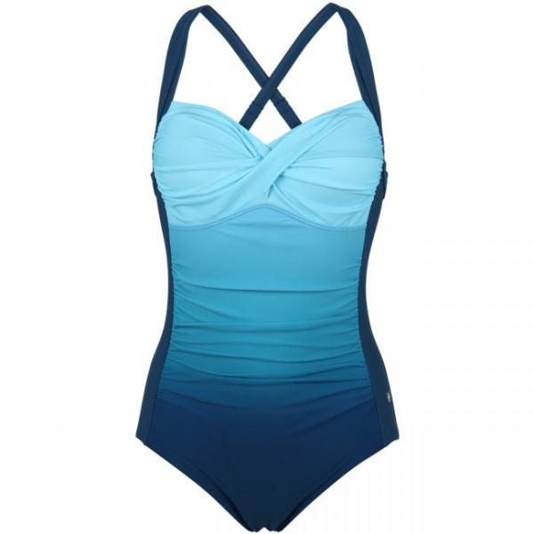 York Damen Badeanzug Minerva blau