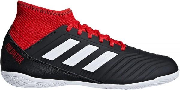 Adidas Kinder Predator Tango IN Fußball Hallenschuh schwarz-weiß-rot