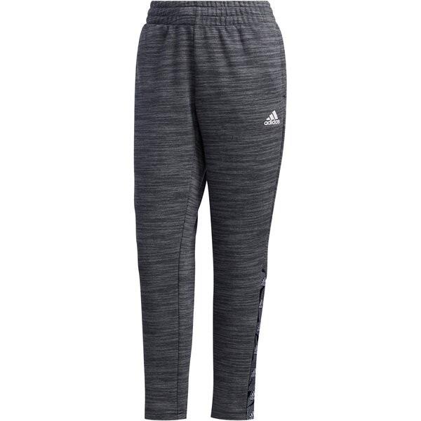 Adidas Damen Essential Tap Trainingshose Freizeithose dunkelgrau
