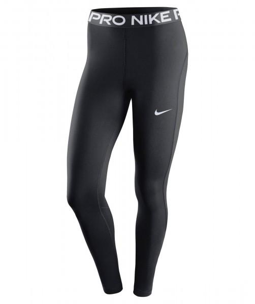 Nike Damen Pro Trainings Tight Leggings schwarz-weiß