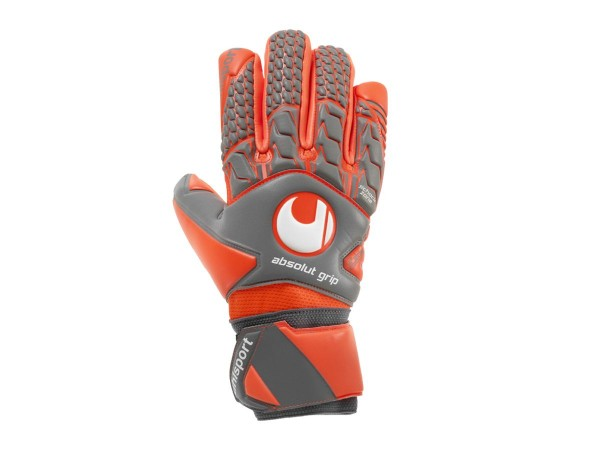 Uhlsport Next Level Absolutgrip Torwarthandschuhe rot-dunkelblau
