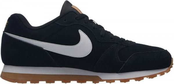 Nike Herren Freizeitschuhe MD Runner schwarz