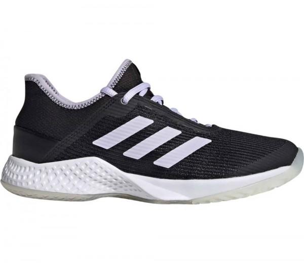 Adidas Damen Adizero Club Allcourt Tennisschuh schwarz-weiß