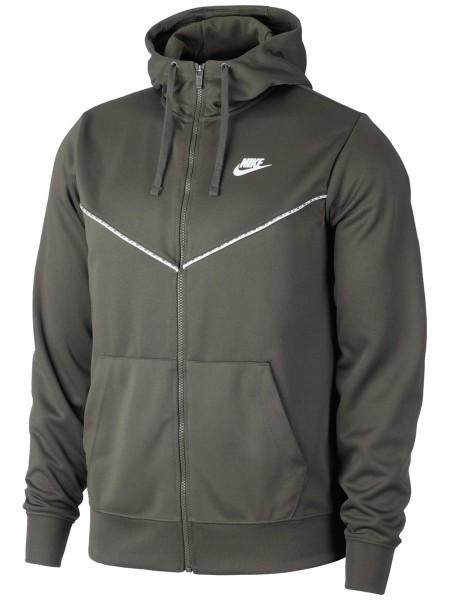 Nike Herren Sportswear Repeat Kapuzenjacke Full Zip Hoodie khaki
