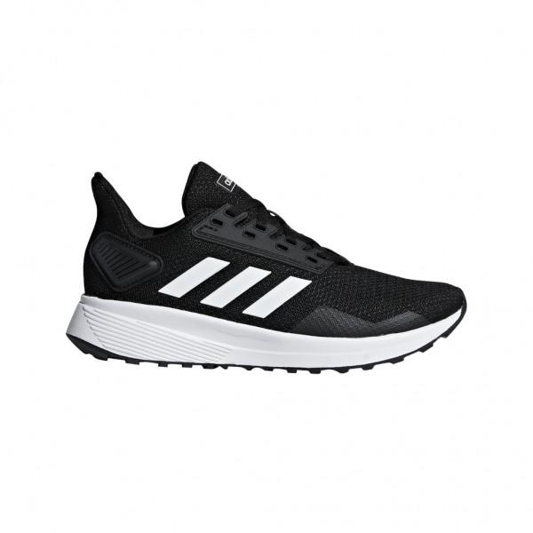Adidas Kinder Duramo 9 Laufschuh Freizeitschuh schwarz-weiß