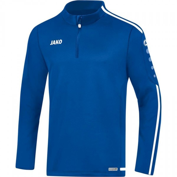 Jako Herren Ziptop Striker 2.0 royal/weiß