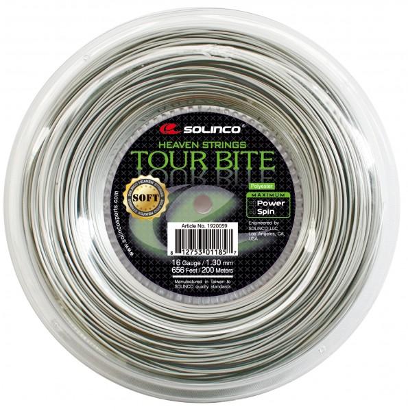 Solinco Tour Bite Soft 1,30 mm 200 m Tennis Saitenrolle
