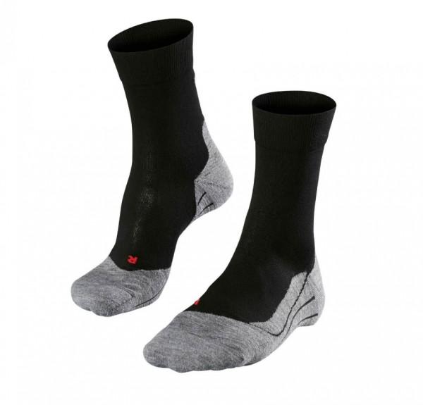 Falke Herren Fitness und Running Socken Strümpfe schwarz-grau