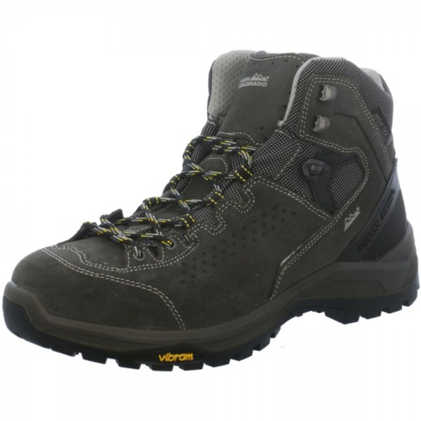High Colorado Herren Ziller Mid Wanderschuh Outdoorschuh anthrazit-obsidian