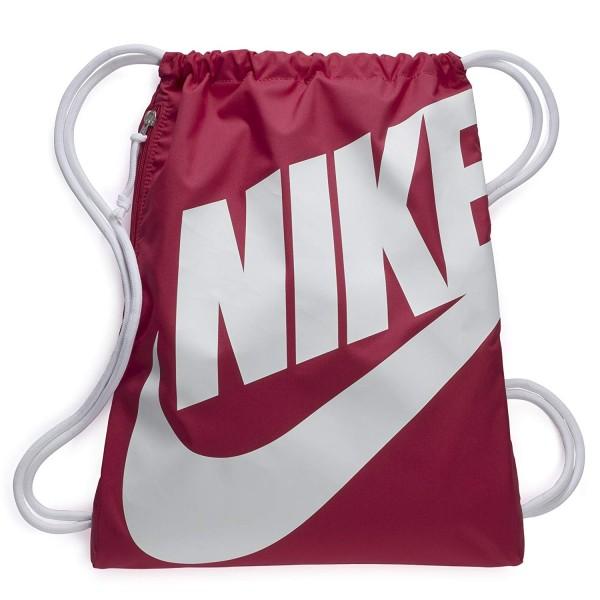 9ea8b290cc309 Nike Turnbeutel Tasche Rucksack Heritage Gymsack rosa weiß