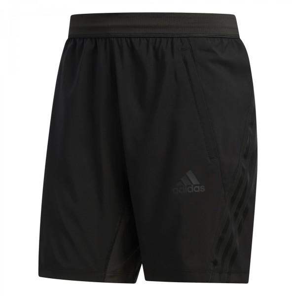 Adidas Herren Aero 3-Streifen Funktionsshort Trainingsshort schwarz