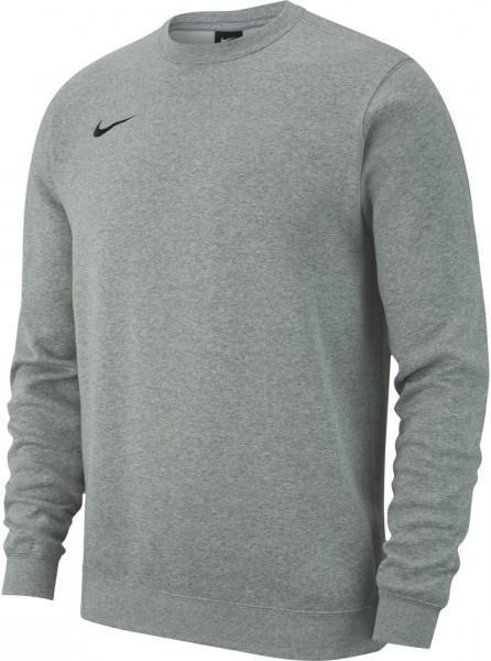 Nike Herren Team Club 19 Crew Sweatshirt Pullover grau-schwarz