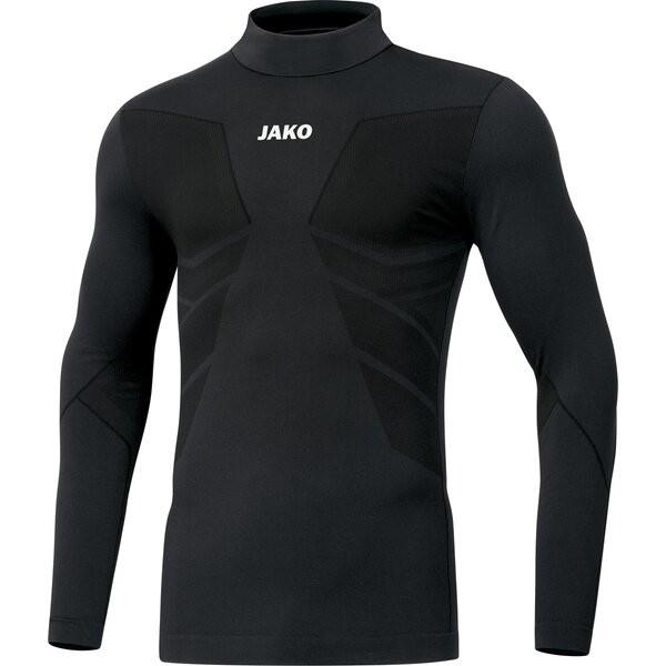 Jako Kinder Turtleneck Comfort 2.0 Underwear Funktionsshirt schwarz