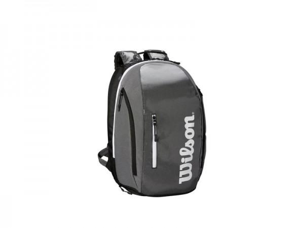 Wilson Super Tour Backpack Tennis Rucksack schwarz-grau