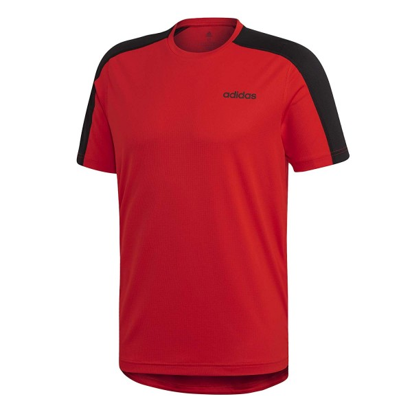 Adidas Herren T-Shirt D2M Tee rot