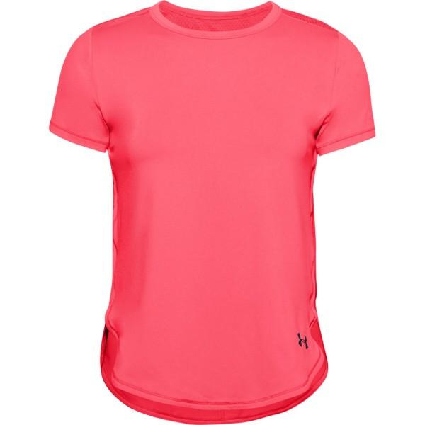 Under Armour Damen Sport Crossback T-Shirt Trainingsshirt pink