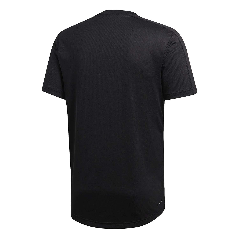 Fantastisk Adidas Herren Funktions T-Shirt D2M Tee schwarz   Shirts AM-92
