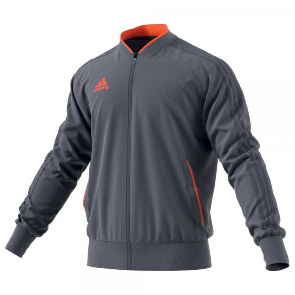 Adidas Condivo 18 Polyesterjacke Trainingsjacke grau-orange