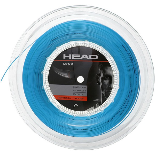 Head Lynx 200m Tennissaite blau