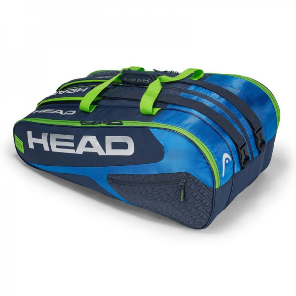 Head Tennistasche Elite 12R Monstercombi blau/grau