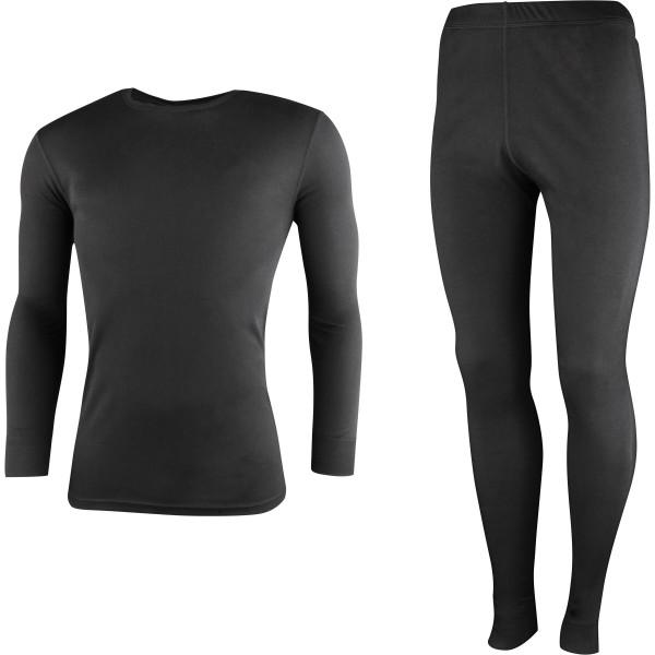 High Colorado Herren Riga 3-M Underwear Set Funktionsunterwäsche schwarz
