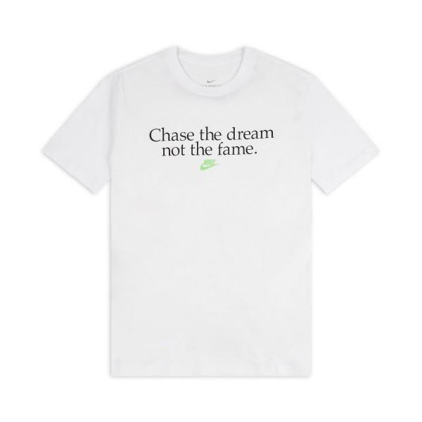 Nike Herren Sportswear Chase the Dream T-Shirt Freizeitshirt weiß
