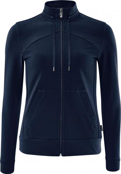 schneider sportswear Damen DIADRAW Sportjacke Trainingsjacke dunkelblau