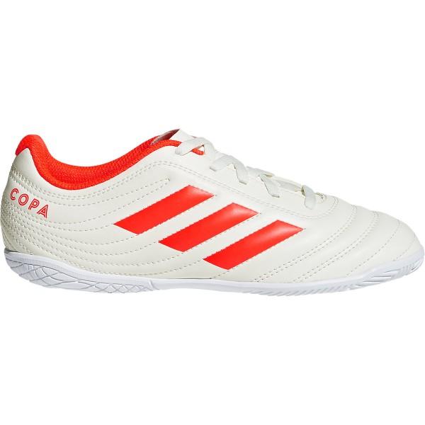Adidas Kinder Copa 19.4 IN Fußball Hallenschuh weiß-rot